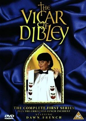 """The Vicar of Dibley"" - British DVD movie cover (thumbnail)"