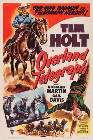 Overland Telegraph - Movie Poster (thumbnail)