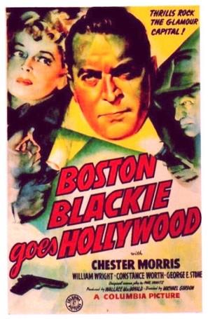 Boston Blackie Goes Hollywood - Movie Poster (thumbnail)