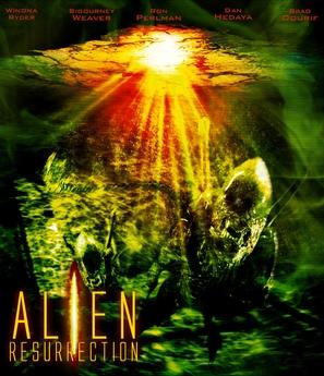 Alien: Resurrection - Blu-Ray movie cover (thumbnail)