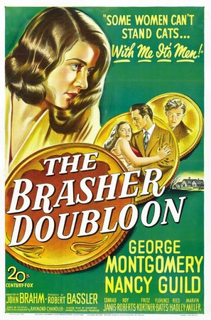 The Brasher Doubloon - Movie Poster (thumbnail)