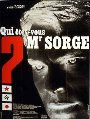 Qui êtes-vous, Monsieur Sorge? - French Movie Poster (thumbnail)