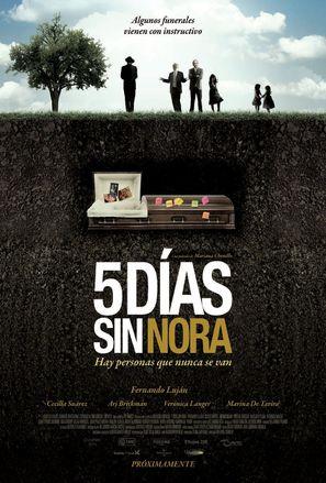 Cinco días sin Nora - Mexican Movie Poster (thumbnail)