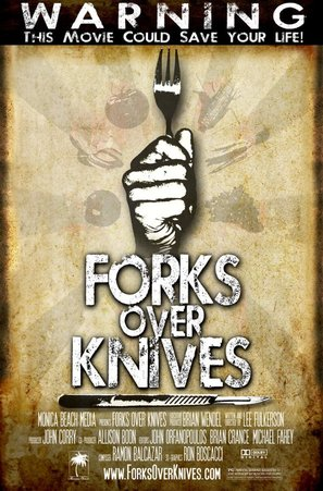 Forks Over Knives - Movie Poster (thumbnail)