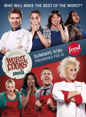 """Worst Cooks in America"" - Movie Poster (thumbnail)"
