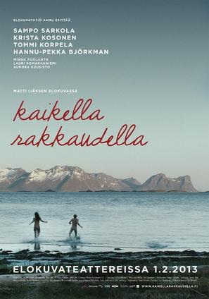 Kaikella rakkaudella - Finnish Movie Poster (thumbnail)