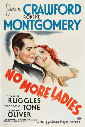 No More Ladies - Movie Poster (thumbnail)
