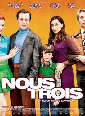 Nous trois - French Movie Poster (thumbnail)