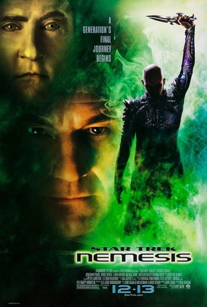 Star Trek: Nemesis - Advance movie poster (thumbnail)