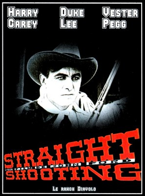 Straight Shooting - French Movie Poster (thumbnail)