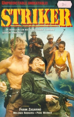 Striker - Dutch VHS cover (thumbnail)