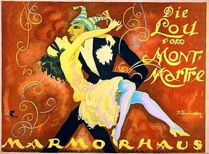 Pariserinnen - German Movie Poster (thumbnail)