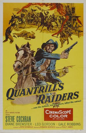 Quantrill's Raiders - Movie Poster (thumbnail)