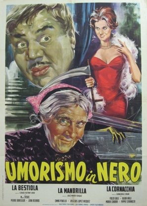 Umorismo in nero - Italian Movie Poster (thumbnail)