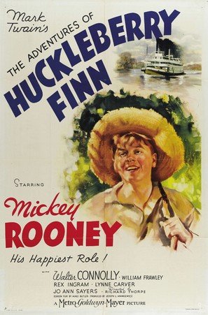 The Adventures of Huckleberry Finn - Movie Poster (thumbnail)