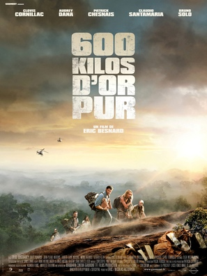 600 kilos d'or pur - French Movie Poster (thumbnail)
