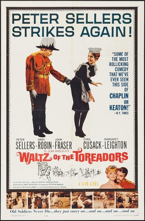Waltz of the Toreadors - Movie Poster (thumbnail)
