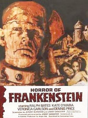 The Horror of Frankenstein - Movie Poster (thumbnail)