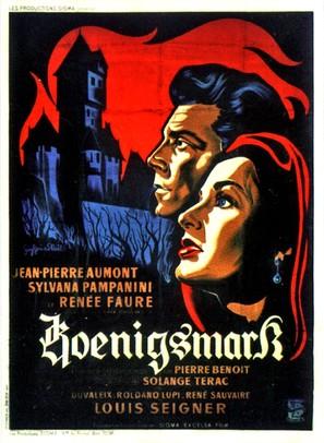 Koenigsmark - French Movie Poster (thumbnail)