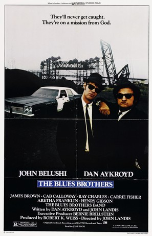 The Blues Brothers - Movie Poster (thumbnail)