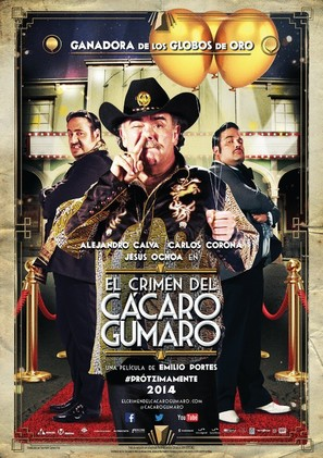 El Crimen del Cacaro Gumaro - Mexican Movie Poster (thumbnail)