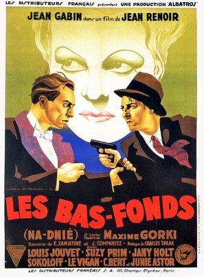 Bas-fonds, Les - French Movie Poster (thumbnail)