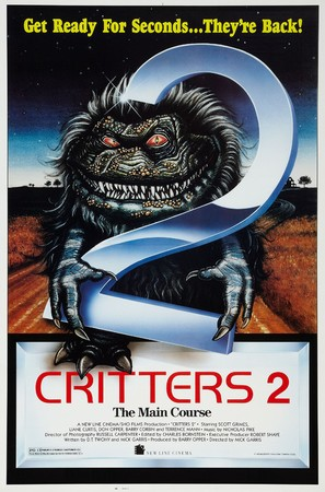 Critters 2: The Main Course - Theatrical movie poster (thumbnail)