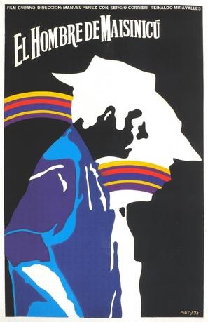 El hombre de Maisinicú - Cuban Movie Poster (thumbnail)