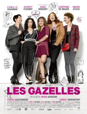 Les gazelles - French Movie Poster (thumbnail)