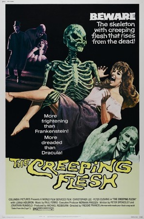 The Creeping Flesh - Movie Poster (thumbnail)