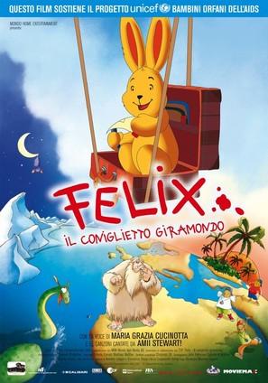 Felix - Ein Hase auf Weltreise - Italian poster (thumbnail)