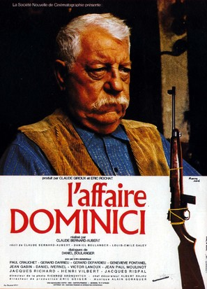 L'affaire Dominici - French Movie Poster (thumbnail)