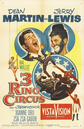 3 Ring Circus - Movie Poster (thumbnail)