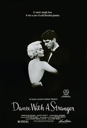Dance with a Stranger - Movie Poster (thumbnail)