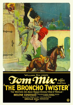 The Broncho Twister - Movie Poster (thumbnail)