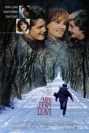 Men Don't Leave - Movie Poster (thumbnail)