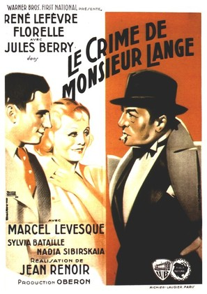Crime de Monsieur Lange, Le - French Movie Poster (thumbnail)