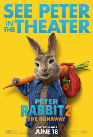 Peter Rabbit 2: The Runaway - Movie Poster (thumbnail)