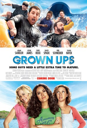 Grown Ups - Movie Poster (thumbnail)