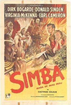 Simba - British Movie Poster (thumbnail)