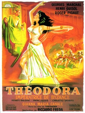 Teodora, imperatrice di Bisanzio - French Movie Poster (thumbnail)