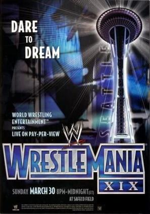 WWE WrestleMania XIX - Movie Poster (thumbnail)