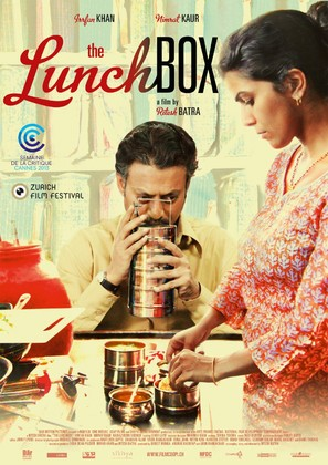 The Lunchbox - Swiss Movie Poster (thumbnail)