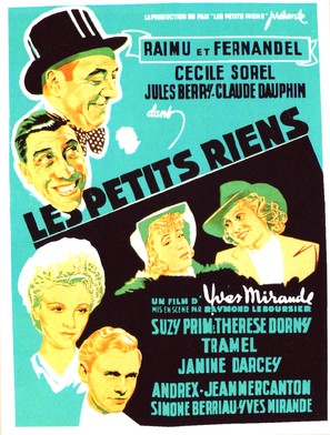 Petits riens, Les - French Movie Poster (thumbnail)