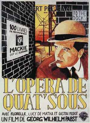 L'opéra de quat'sous - Movie Poster (thumbnail)