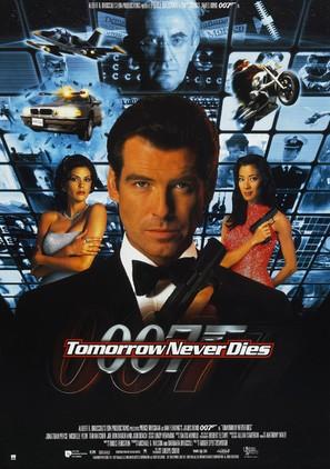 Tomorrow Never Dies - Movie Poster (thumbnail)
