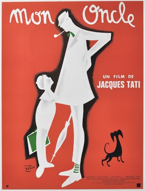 Mon oncle - French Movie Poster (thumbnail)