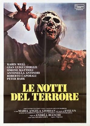 Le notti del terrore - Italian Movie Poster (thumbnail)