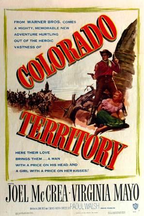 Colorado Territory - Movie Poster (thumbnail)