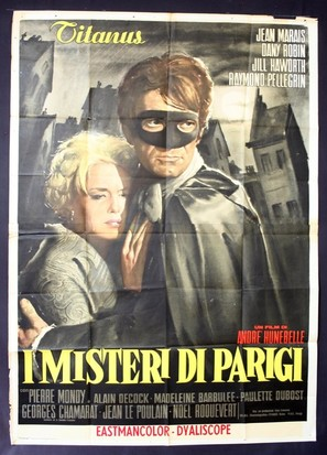 Mystères de Paris, Les - Italian Movie Poster (thumbnail)